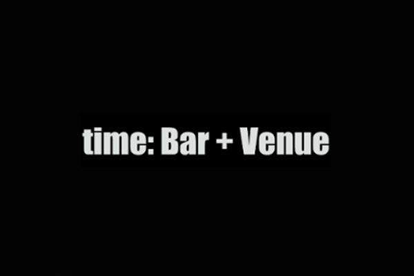 Time : Bar + Venue