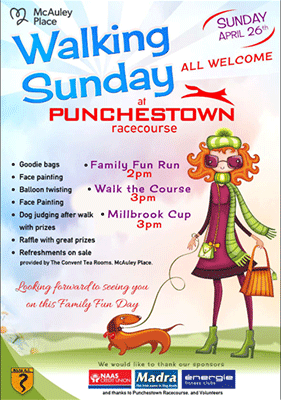 Walking Sunday at Punchestown